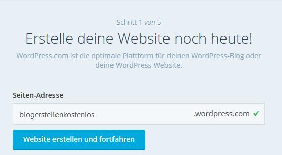 blog-kostenlos-erstellen-wordpress-schritt-1