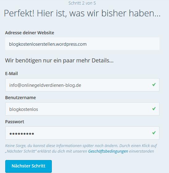 blog-kostenlos-erstellen-wordpress-schritt-2