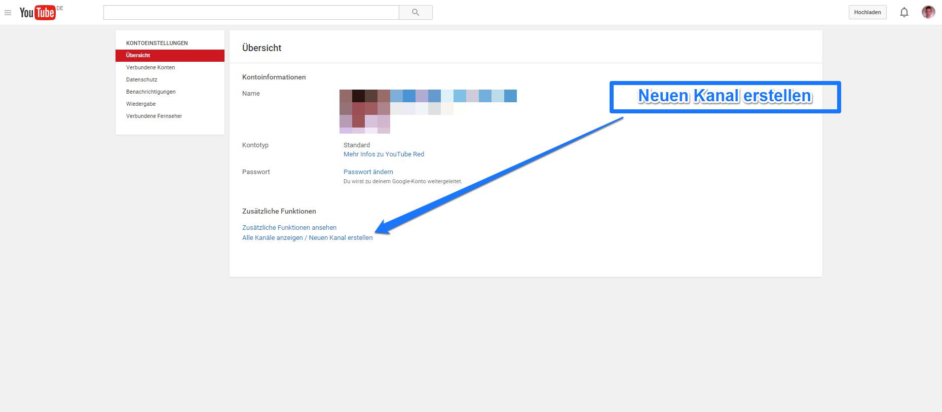 neuen-youtube-kanal-erstellen