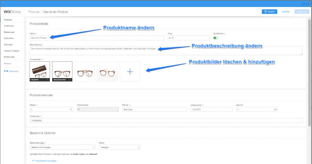 wix-onlineshop-erstellen-produkt-bearbeiten