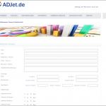 adjet-webseite-eintragen