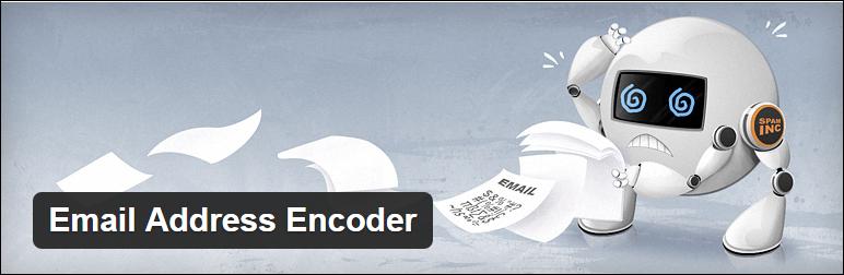 wordpress sicherheit email adress encoder