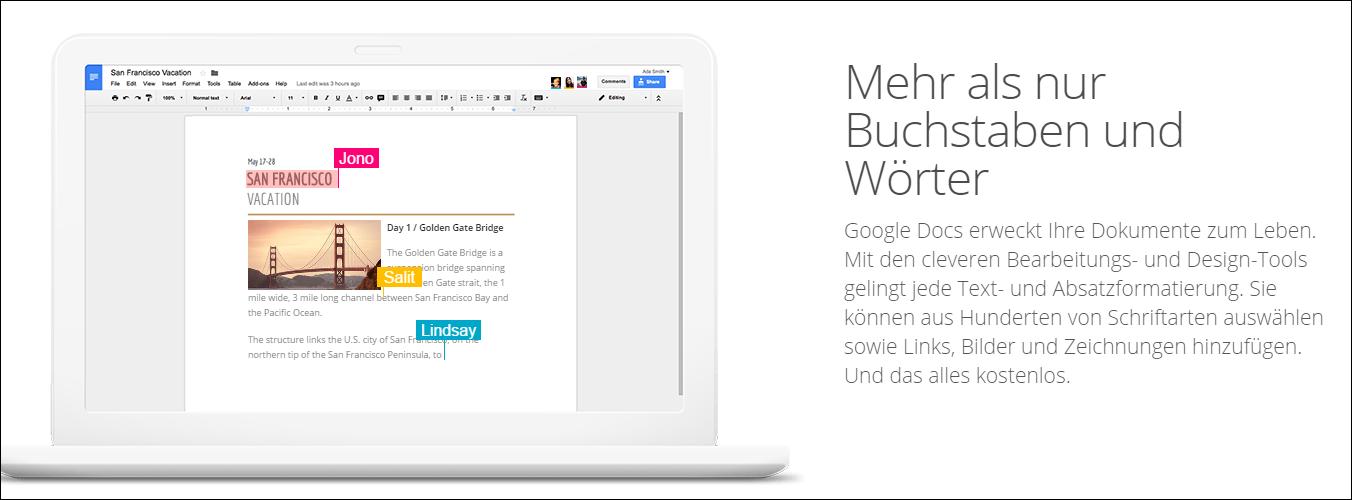 google tools google docs