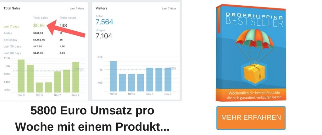 Dropshipping Bestseller - Erfolgreich mit Dropshipping