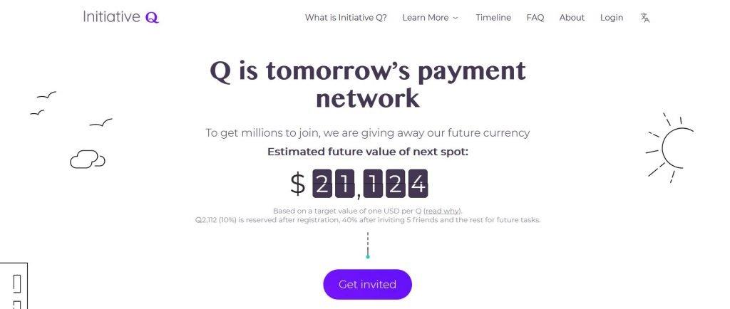 Initiative Q anmelden