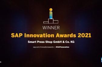 Smart Press Shop gewinnt SAP Innovation Award 2021 für Implementierungsprojekt mit Syntax