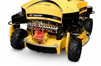 Leistungsstarke Großflächen- und Böschungsmäher: Spider ILD02 EFI und Spider 2SGS EFI
