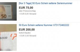 Check im Portemonnaie – Reich werden mit einem 50-Euro-Schein