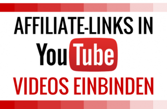 Mit SmartSocial Affiliate-Links in YouTube Videos einbauen