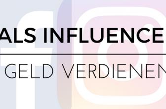 Geld verdienen als Influencer