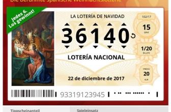 Ist es sinnvoll, sich ein Ticket für die Spanische Weihnachtslotterie zu kaufen?