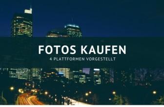 Fotos kaufen – Die 4 besten Plattformen vorgestellt