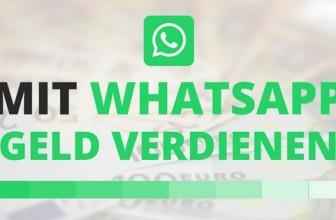 Geld verdienen mit WhatsApp
