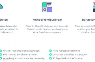 Das Amazon Affiliate for WordPress-Plugin (AAWP)