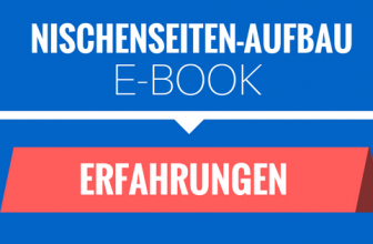 Nischenseiten Aufbauen – E-Book Erfahrungen