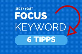 SEO by Yoast Focus Keyword – 5 Tipps