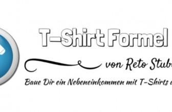 T-Shirt Formel Erfahrungen – Geld verdienen mit T-Shirts